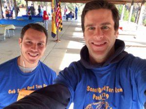 Mattock and Neyra Cub Scouts Fun Run Close