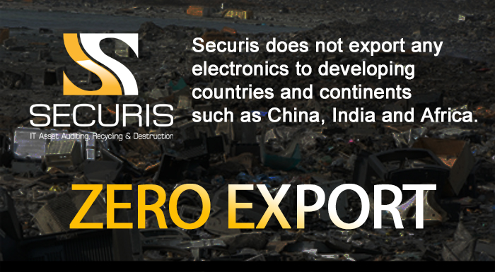 Securis does not export electronics