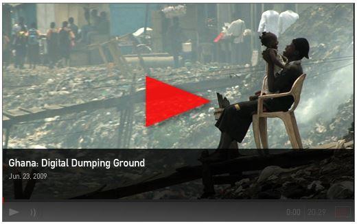 Ghana dumping ground