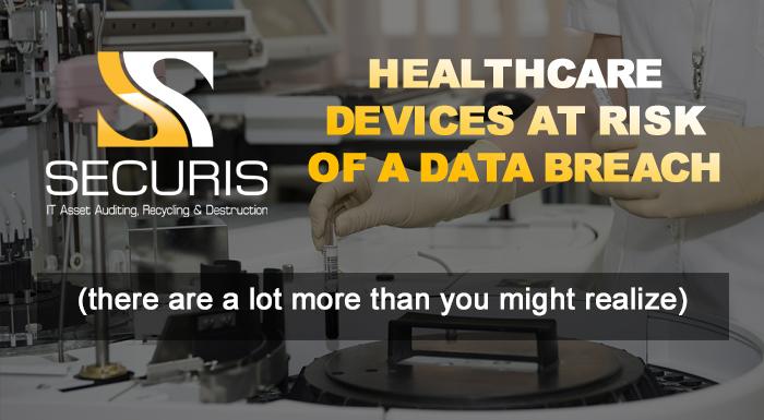 Healthcare devices at risk of a data breach
