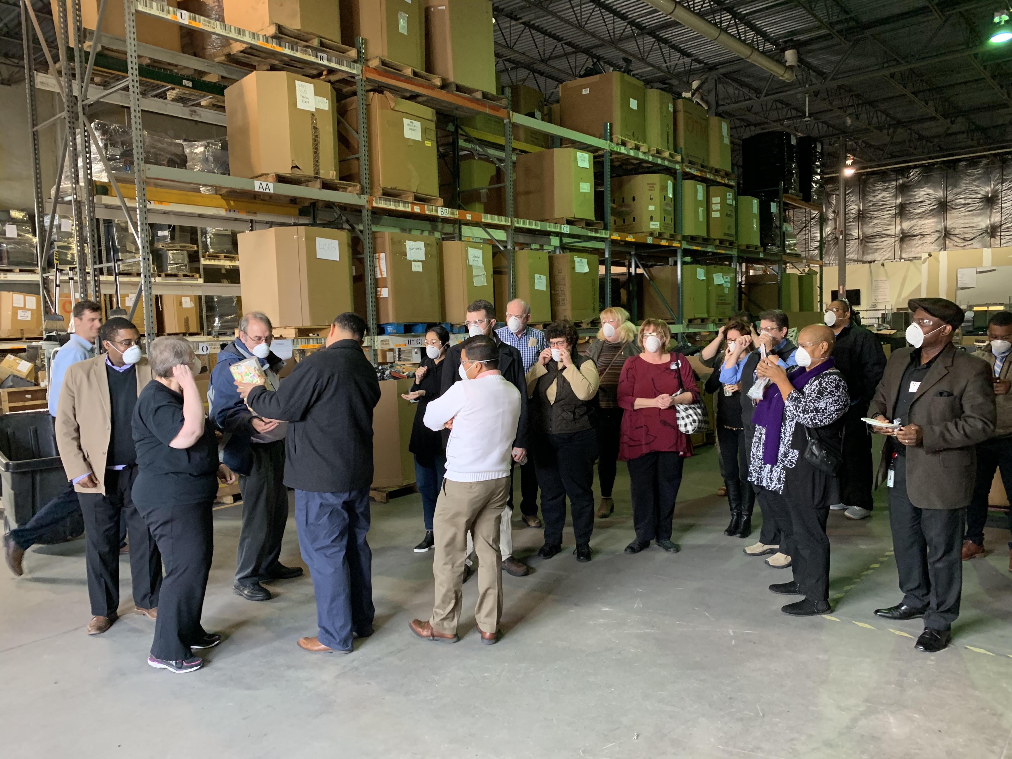 NPMA and Securis Touring The Securis Warehouse