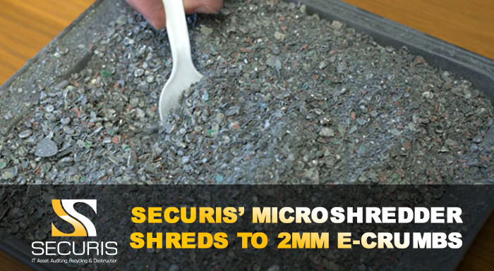 degaussing solid-state drives does not work so use a microshreder