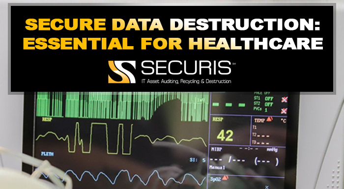 Secure data destruction is essential to healthcare during COVID-19 especially.