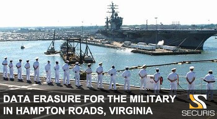 Data Erasure for the Military in Hampton Roads Virginia