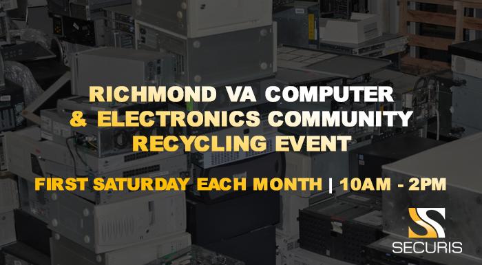 richmond va computer & electronics community recycling event