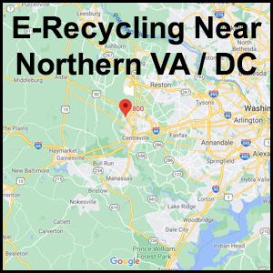 Northern VA electronics recycling event