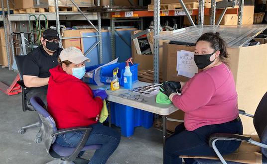 Innovation at work at Securis warehouse